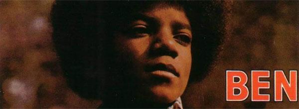 Michael Jackson Ben Single Cover