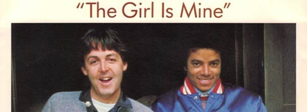The Girl Is Mine Single Cover