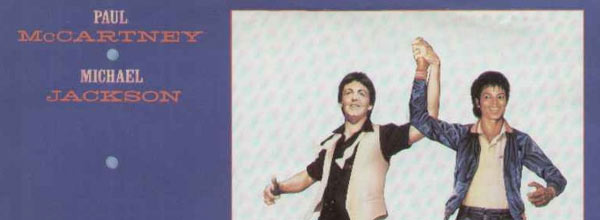 Michael Jackson Say Say Say Single Cover