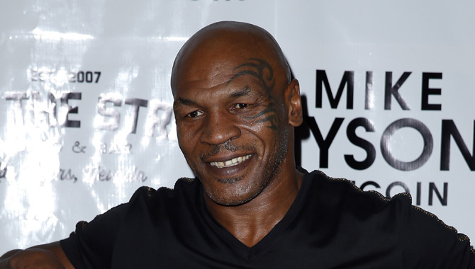 Mike Tyson tattoo