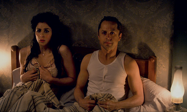 Sarah Silverman Giovanni Ribisi A Million Ways to Die in the West