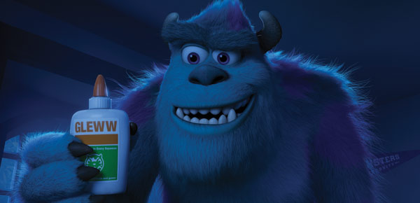 John Goodman's Character Sulley up to his usual tricks