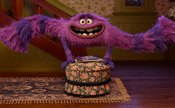 A scene from Monsters University