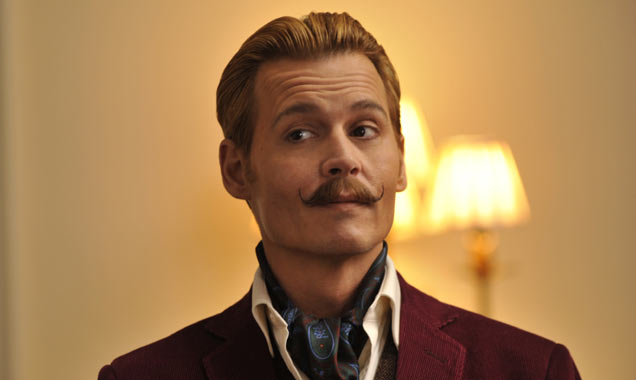 Johnny Depp as Charlie Mortdecai