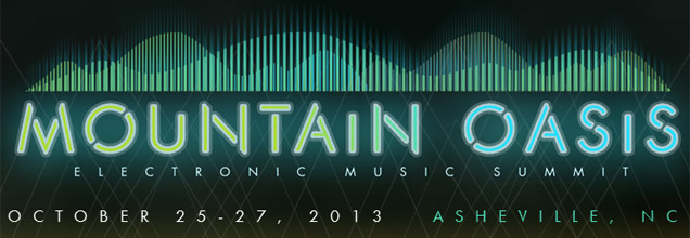 Mountain Oasis Electronic Music Summit Logo