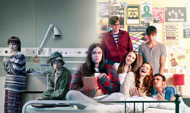 Rae Earl and The Gang in 'My Mad Fat Diary'