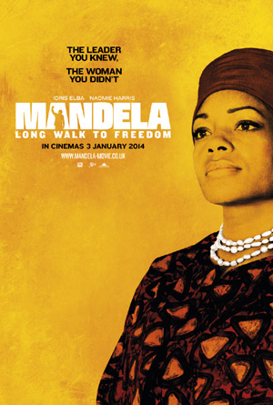 Naomie Harris, Mandela: Long Walk To Freedom Poster