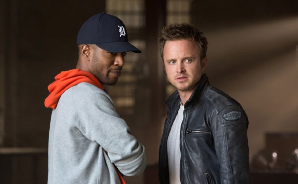 Aaron Paul and Kid Cuti