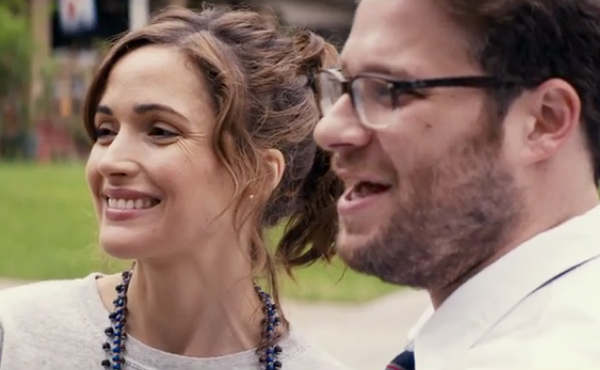 Seth Rogan and Rose Byrne