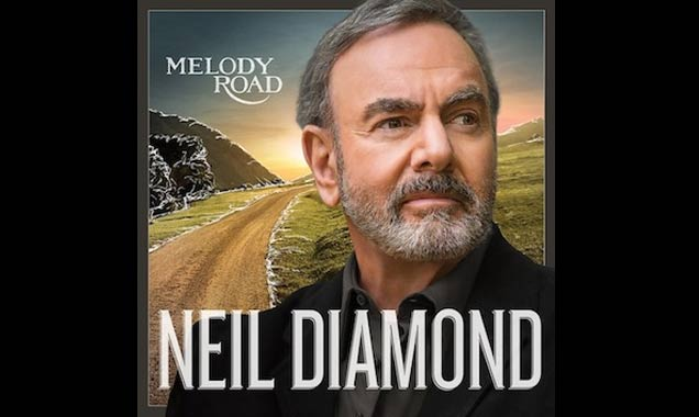 Neil Diamond 'Melody Road' artwork