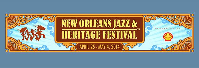 New Orleans Jazz Festival 2014 logo