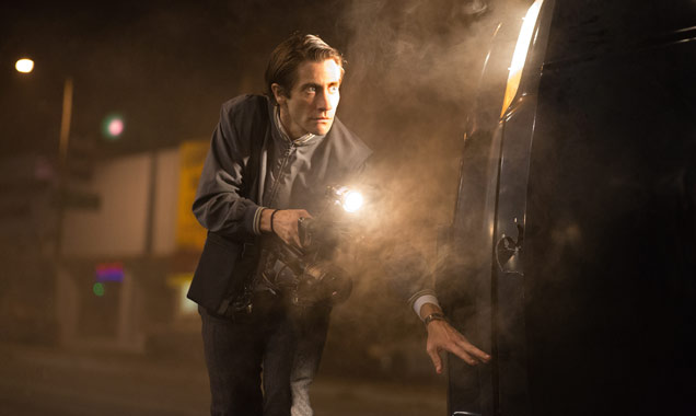 Jake Gyllenhaal as Lou Bloom in 'Nightcrawler'