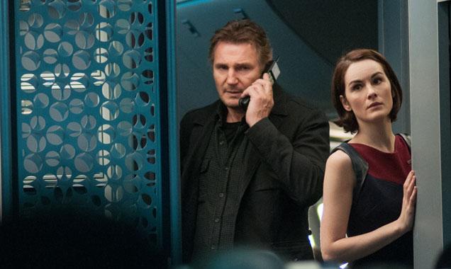 Liam Neeson, Michelle Dockery, Non-Stop