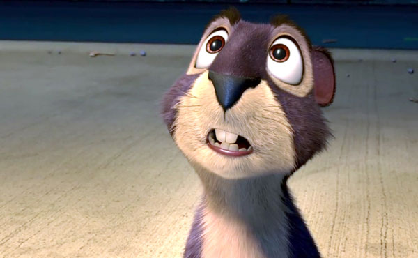 Will Arnett's Surly in The Nut Job