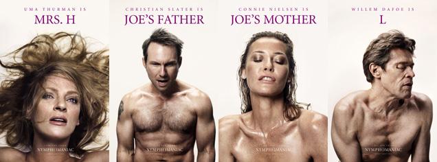 Nyphomaniac posters