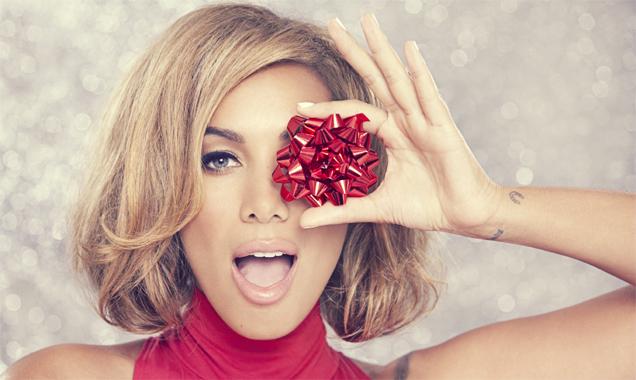 Leona Lewis Christmas Wrapping