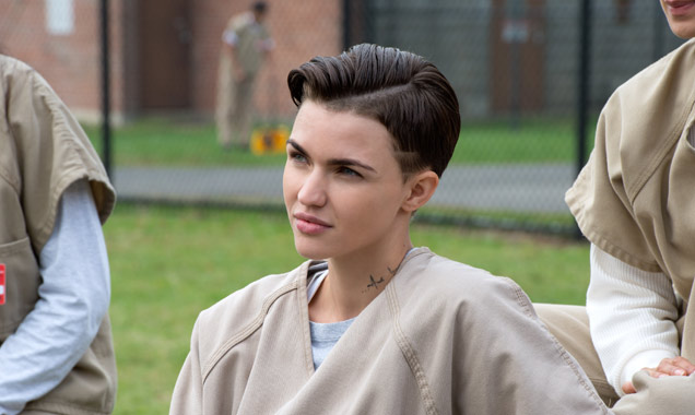 Ruby Rose in Orange Is The New Black