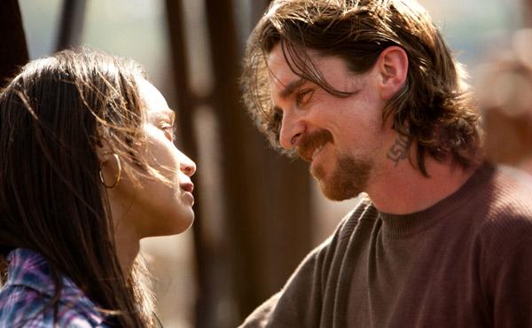 Christian Bale and Zoe Saldana