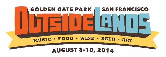 Outside Lands 2014 festival logo