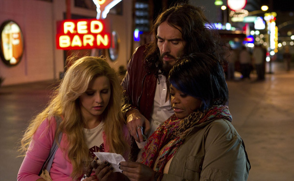Julianne Hough Russell Brand Octavia Spencer in Paradise