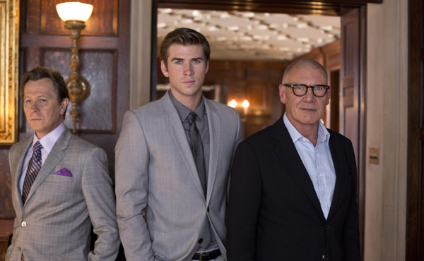 Gary Oldman Liam Hemsworth Harrison Ford