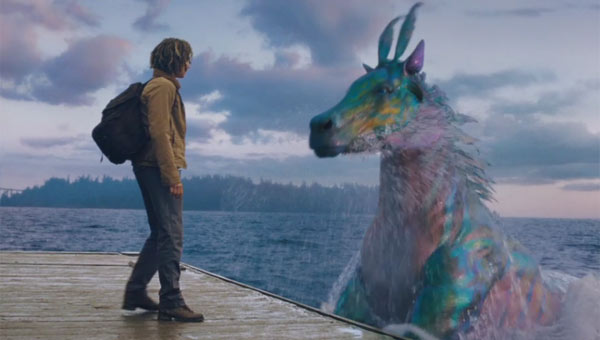 Douglas Smith as Tyson in Percy Jackson: Sea of Monsters