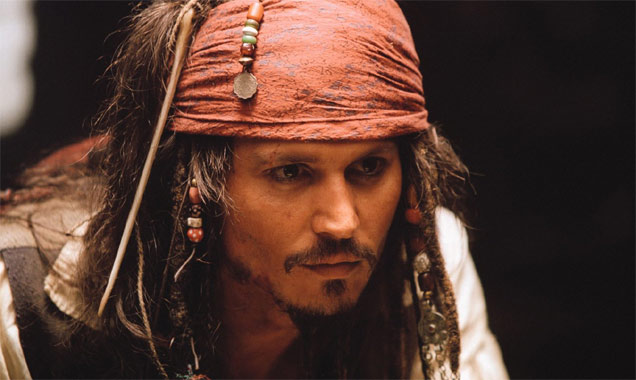 Johnny Depp Visits Children's Hospital Dressed As Captain Jack Sparrow