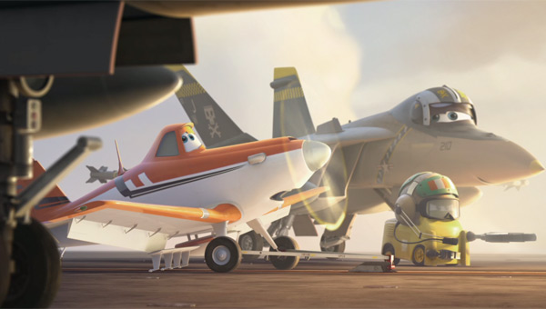 Dusty Crophopper in Disney's Planes