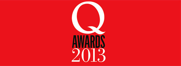 Q Awards 2013 Logo