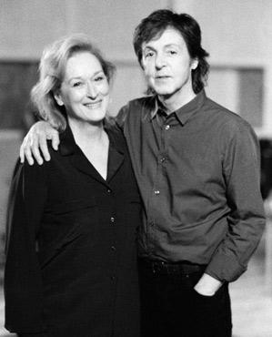 Meryl Streep Paul McCartney