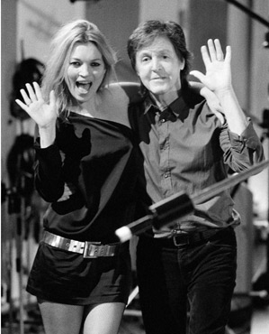 Paul McCartney Kate Moss