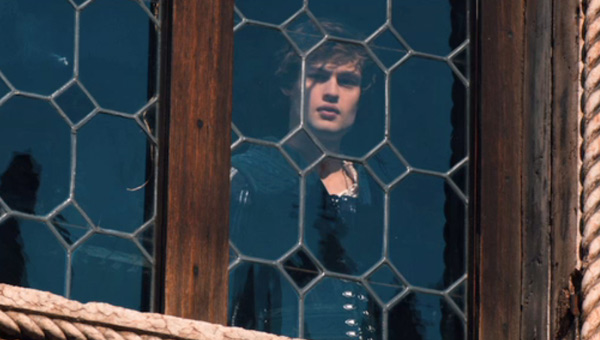 Douglas Booth as Romeo in Romeo And Juliet
