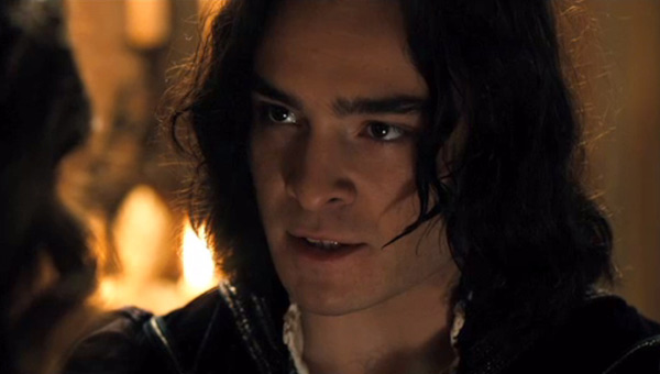 Ed Westwick as Tybalt in in Romeo And Juliet