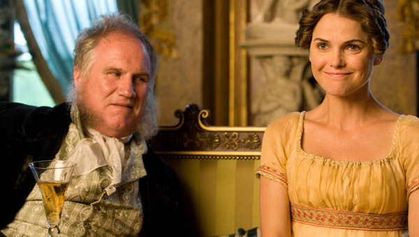 Rupert Vansittart and Keri Russell