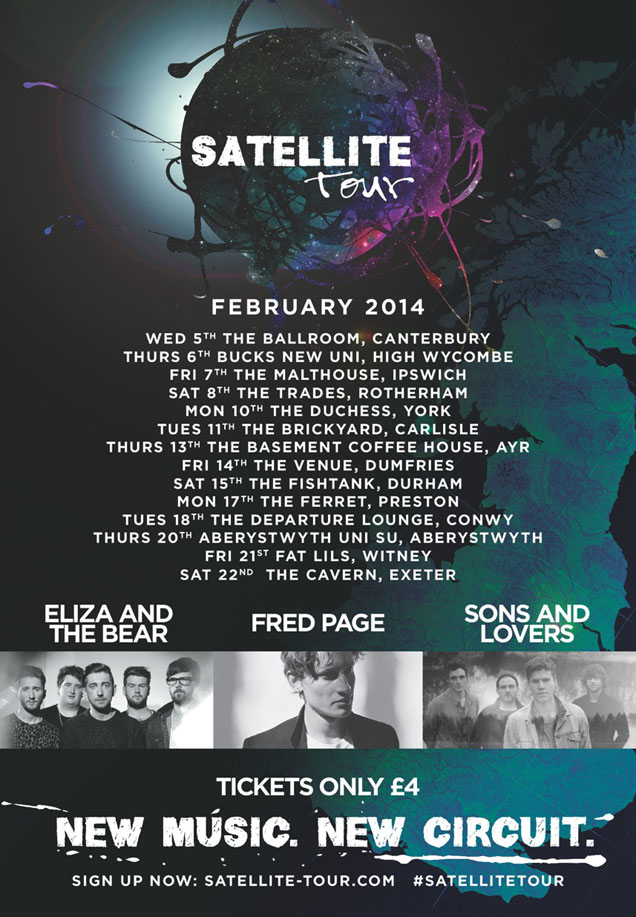Satellite Tour 2014 Poster