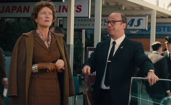 Giamatti appears alongside Emma Thompson - Saving Mr. Banks
