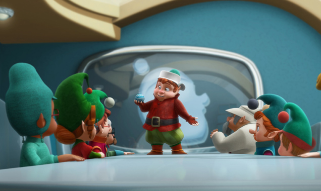 Saving Santa film still