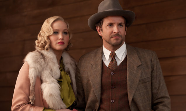 Jennifer Lawrence and Bradley Cooper in 'Serena'