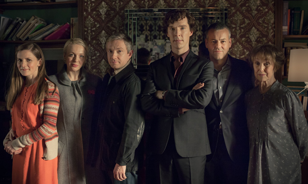 Sherlock Season 3 cast