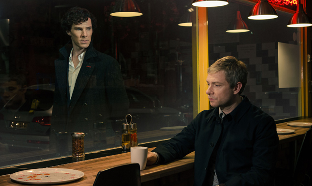 'Sherlock' Series Four Begins Filming