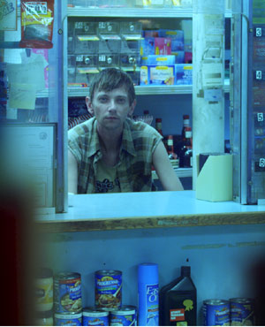 Artie played by DJ Qualls in Small Apartments