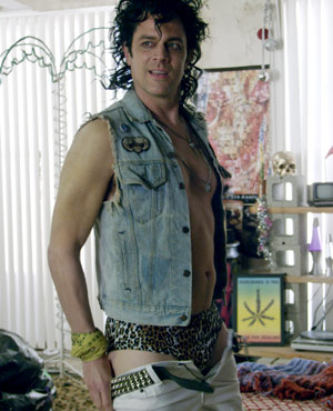 Tommy Balls played by Johnny Knoxville in Small Apartments