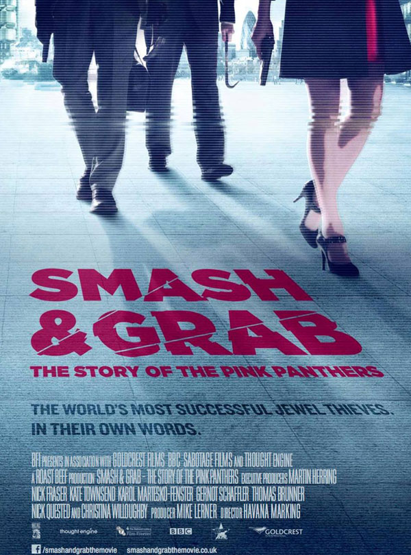 Smash And Grab Pink Panthers Poster