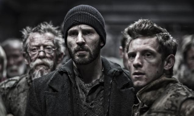 Snowpiercer Jamie Bell, Chris Evans, John Hurt