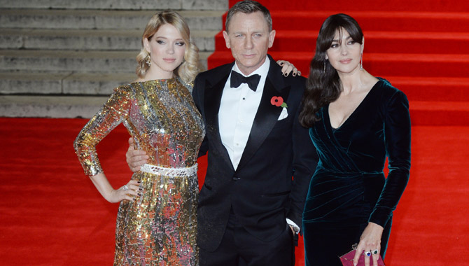 Stars And Royals Turn Out For The World Premiere Of 'Spectre' In London [Photos]