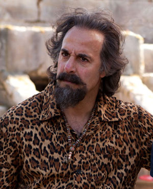 Stanley Tucci as Dionysus in Percy Jackson: Sea of Monsters