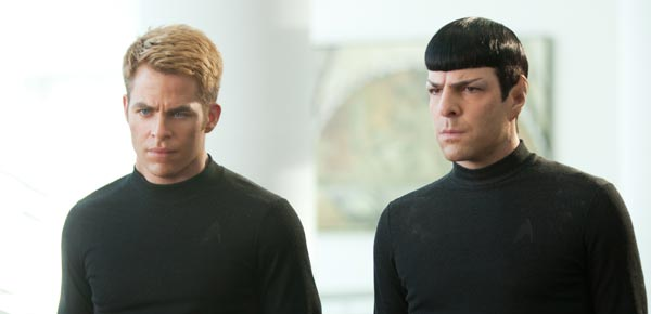 Star Trek, Zachary Quinto, Chris Pine