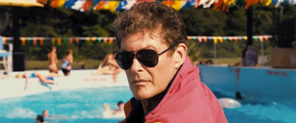 David Hasselhoff Piranha 3-DD
