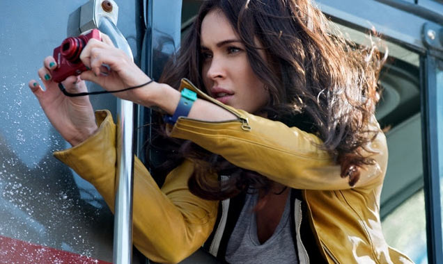 Megan Fox in Teenage Ninja Mutant Turtles