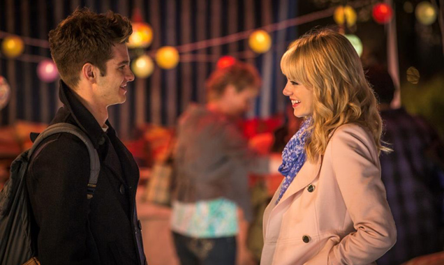 Andrew Garfield, Emma Stone, The Amazing Spider-Man 2